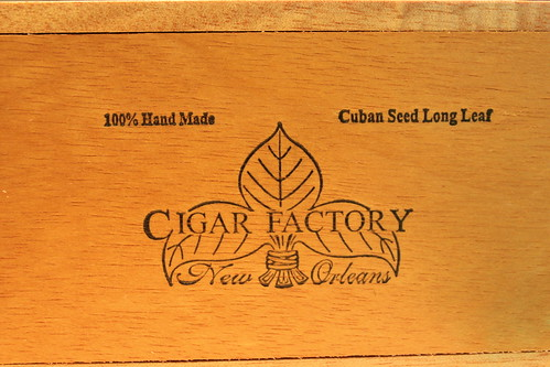 Hand Rolled in New Orleans, Cigars