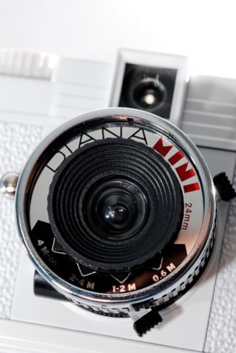 24 mm 的鏡頭,可以做簡易的對焦(應該很容易忘記調吧?)