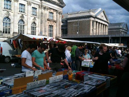 Berlin fleamarket - DVDs etc.