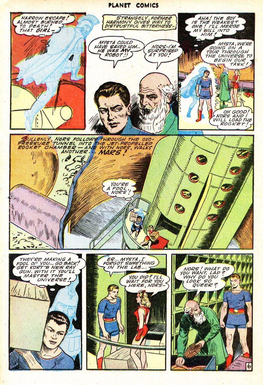 Planet Comics 35 - Mysta (March 1945) 06