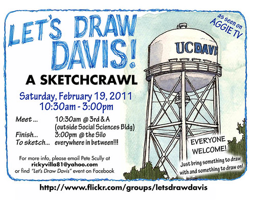 lets draw UC davis!