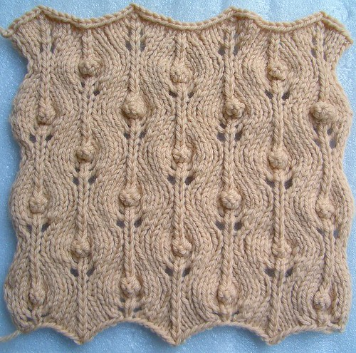 Basic Knitting Stitches Yarn Over : 10. Yarn-Over Patterns (2nd) The Walker Treasury Project