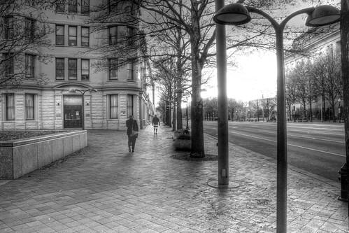A Quiet City Street