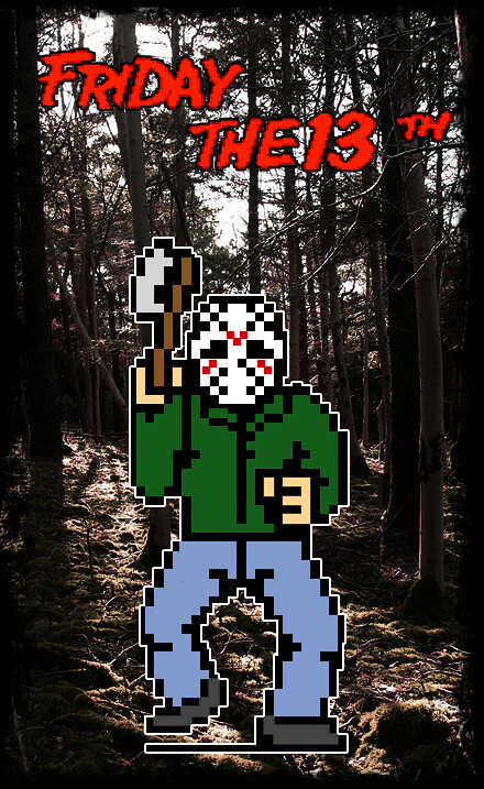 The 8-Bit Jason Project - 3D