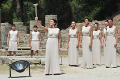 Flame Lighting Ceremony - Olympia, Greece