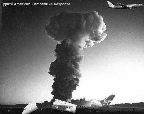 Typical American Airlines Competitive Response