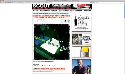 scout magazine aug 2010