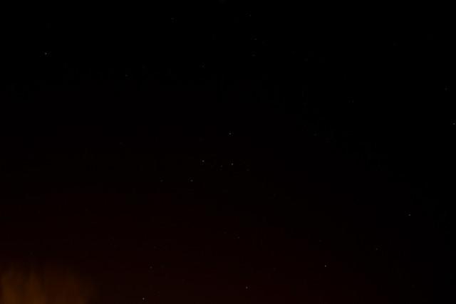 Night Sky, low Iso