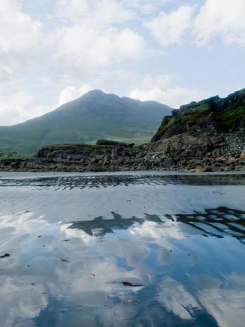 View from Loch Buie shores