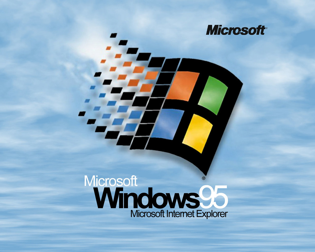 Microsoft Windows 95 startup screen