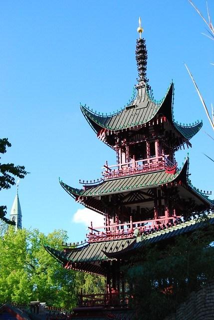 La pagoda misteriosa