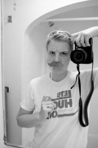 Making a mustache