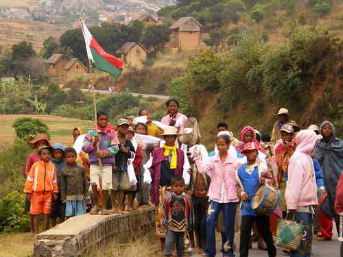 Celebración de famadihana