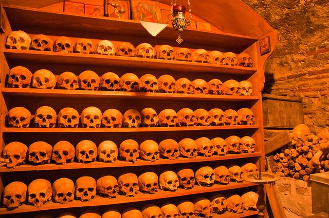 Ossuary in Grand Meteora