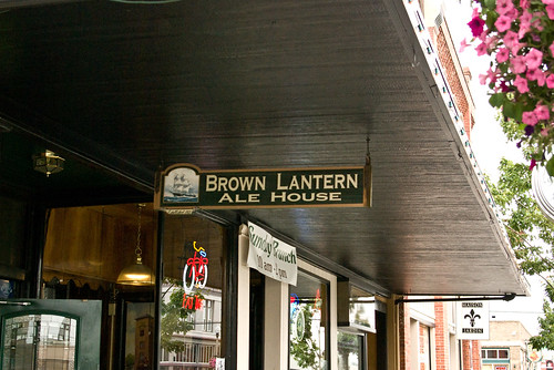 Brown Lantern