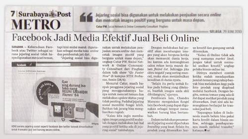 Surabaya Post, Tuesday June 29th 2010