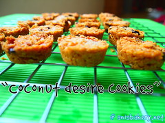coconut desire cookies