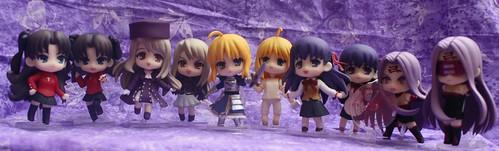 Fate/Stay Petit Nendoroids