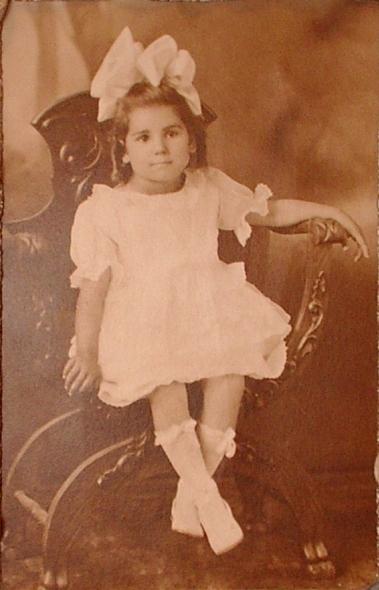 close up of my grandmother