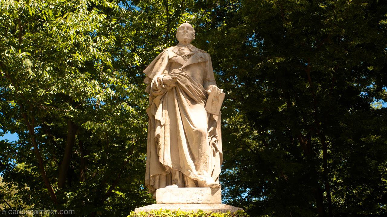 Mariano Lagasca en el Jardín Botánico