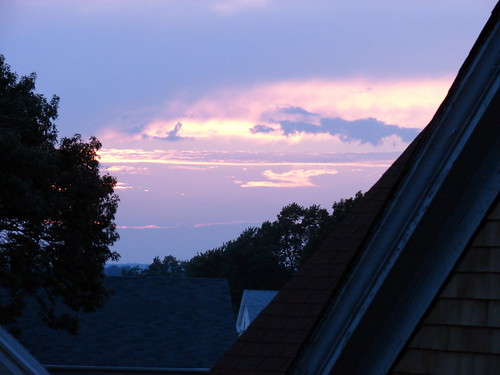 sunset over Summit