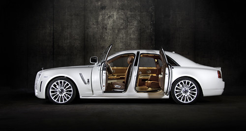 Rolls Royce White Ghost Limited By Mansory, luxorium