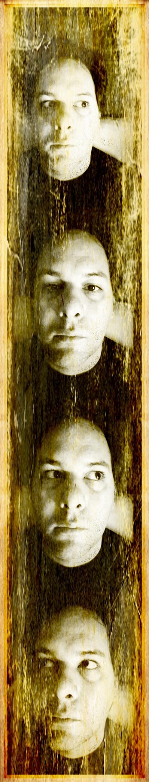 Photostrip self portrait