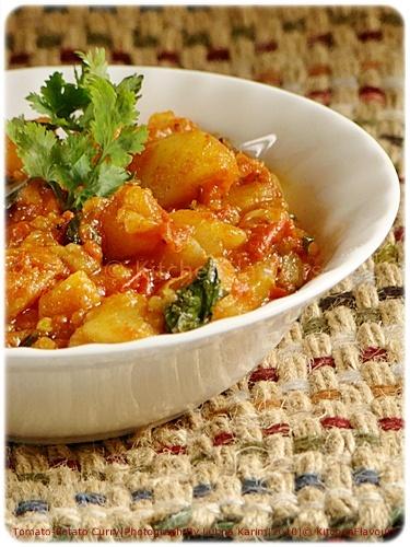 Tomato-Potato Curry