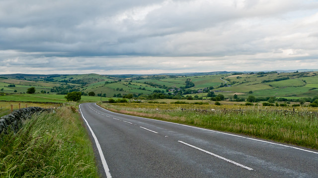 Just inside the Peak District