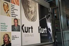 Kurt Cobain and Andy Warhol