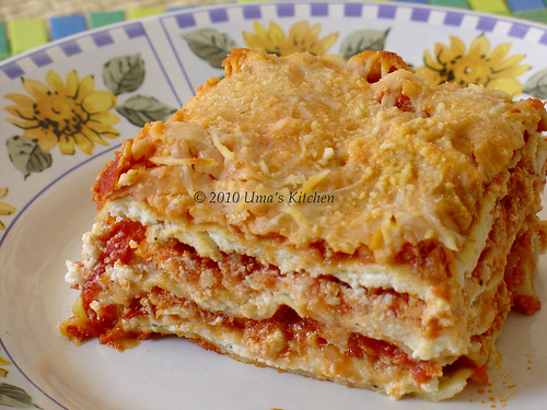 Chicken Lasagna 1