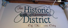 Kansas City Historic Garment District logo