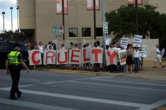 Animal Cruelty Protest - Ringling Bros Circus
