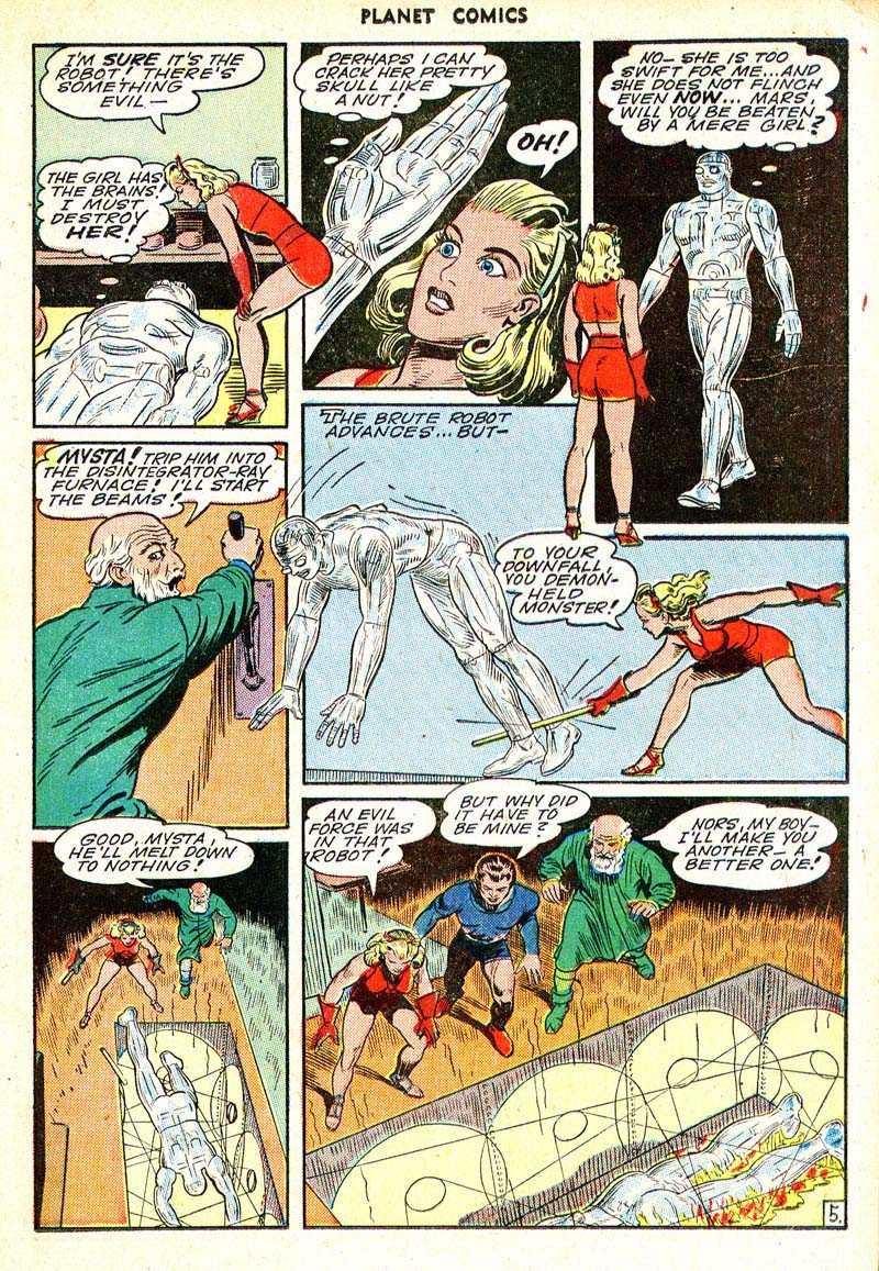 Planet Comics 35 - Mysta (March 1945) 05