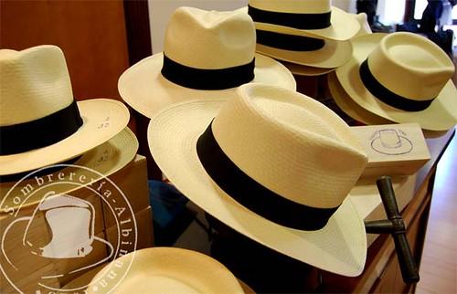 Sombrero Panama de Sombrerería Albiñana
