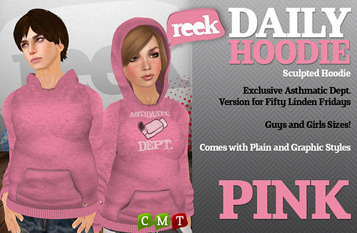 Reek - Daily Hoodie - Pink