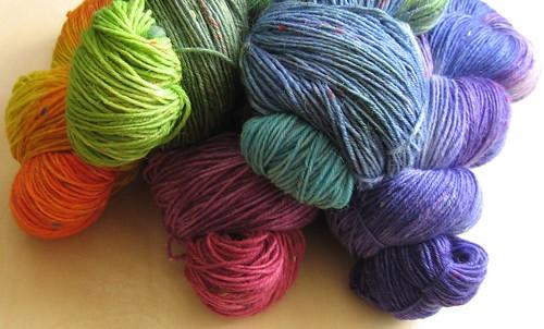 Sockenwolle Tweed I