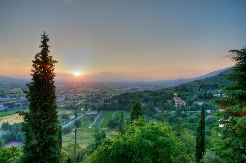 Sunset in Umbria