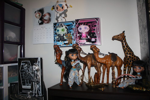 MH stuff in the doll room