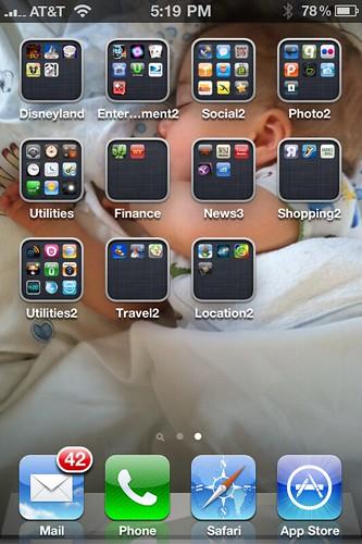 My new iPhone screen #2