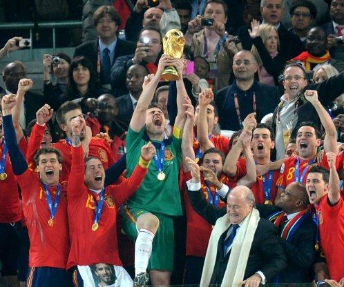 España Campeona Mundial Sudafrica 2010