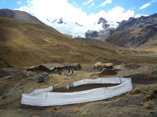 Schlafen auf dem Schaefer-Hof, Anden-Trekking