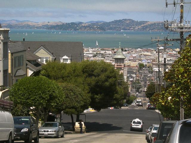 closer to the Marina, SF