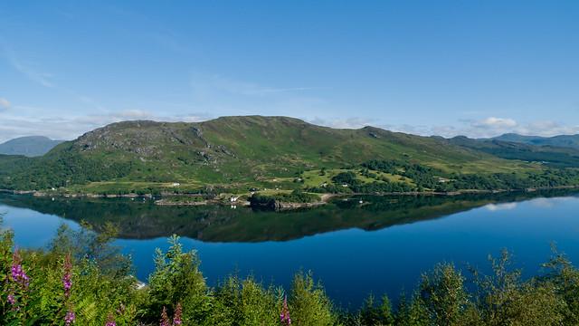 Reflections in Loch Carron