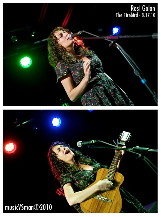 Rosi Golan @ The Firebird - 8.17.10