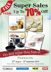 Parkson Kitchenware Super Sales