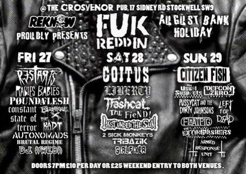 Fuk Reddin 2010 The Grosvenor Pub, 17 Sidney Road, Stockwell, SW9
