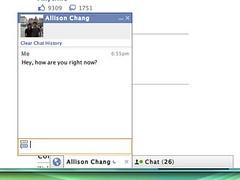 Facebook Chat conversation