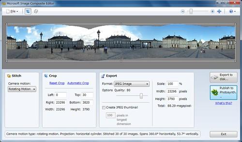 Microsoft Image Composit Editor