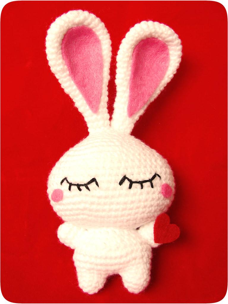 retro love bunny